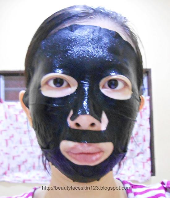 Dr. Morita Volcanic Mud Whitening Essence Facial Mask