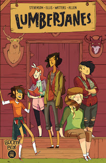 Fuelled By Fiction Fueled Book Blog Lumberjanes Noelle Stevenson