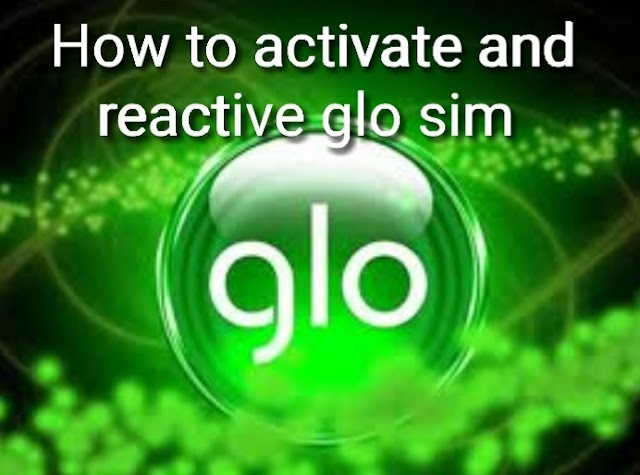 How to activate and reactive glo sim 2021