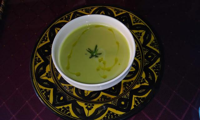 Crema De Judías Verdes Al Aroma De Romero