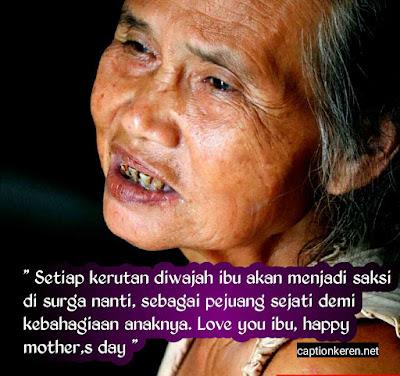 caption dan gambar kata-kata ucapan selamat hari ibu