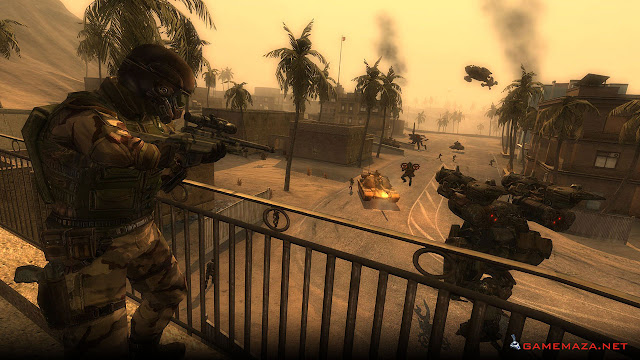 Enemy Territory Quake Wars Gameplay Screenshot 4