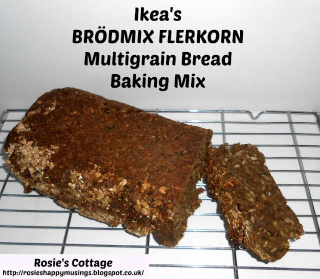 Ikea Brodmix Flerkorn multigrain bread baking mix - baked