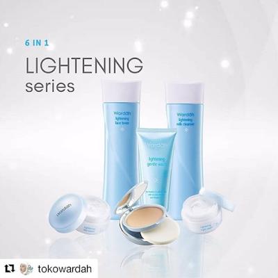 Paket Kosmetik Wardah Lightening 6 In 1 | Lampung | Jakarta
