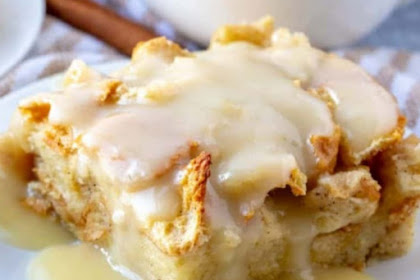 EASY THE BEST BREAD PUDDING
