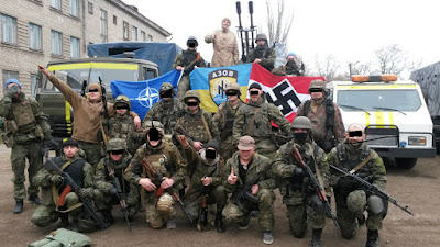 Nazi fascism eugenics paramilitary Ukraine Brazil Hong Kong