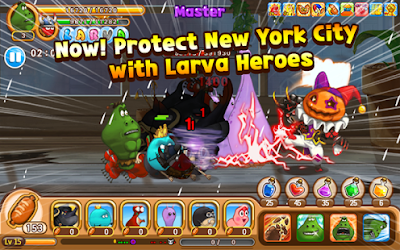 Download Game Larva Heroes: Lavengers 2014 1.4.7 APK Gratis