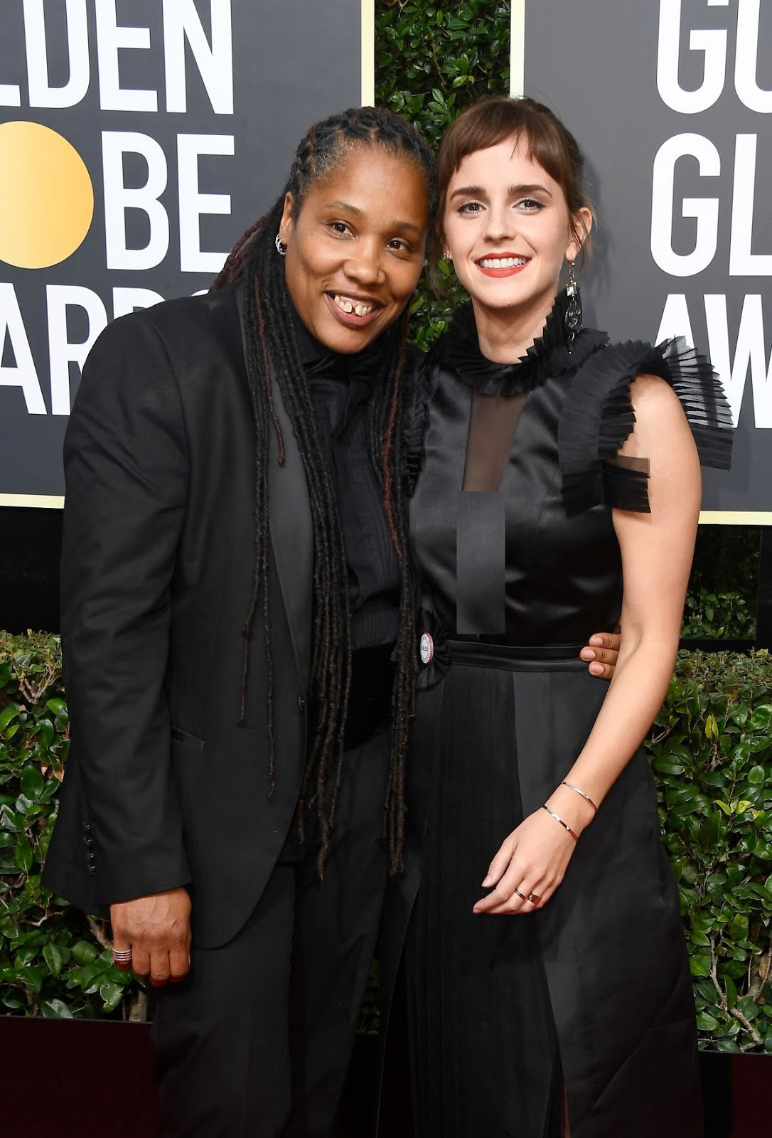 Emma Watson At 75Th Annual Golden Globe Awards In Beverly Hills