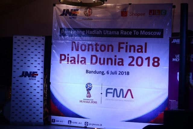 menuju final piala dunia 2018 bersama jne