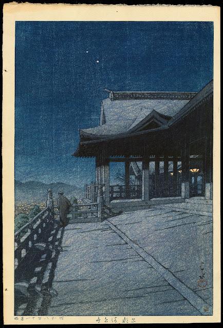 群馬の秘湯、法師温泉!昭和8年に描かれた新版画から全く変わっていない風景【a】 清水寺
