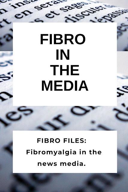 Fibromyalgia in the media this week.