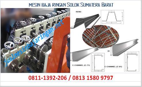 mesin baja ringan Solok Sumatera Barat
