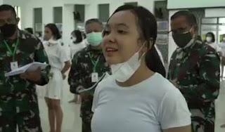 Viral Wanita Ikut Tes Kowad TNI demi Bikin Mantan Menyesal, Ini Biodatanya!