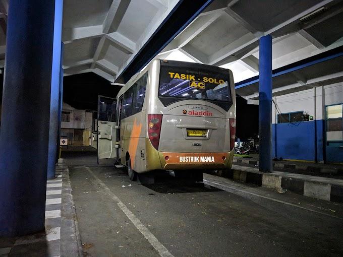 Catatan Perjalanan Bis Aladin Bandung - Purwokerto