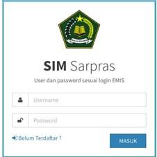 Mendaftarkan SIM Sarpras Dan Alur Pengajuan