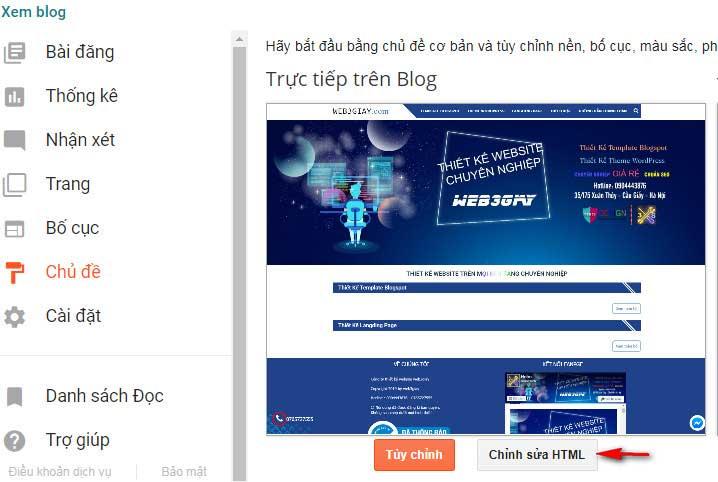 Bước 1 thủ thuật bỏ tham số m1 blogspot