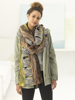 Interesting Scarf knitting Pattern