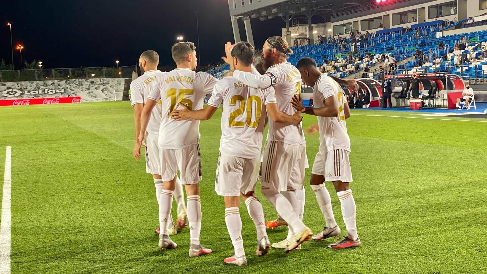 Real Madrid venció a Getafe y se consolidó en la punta de la Liga española de fútbol