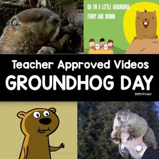 http://www.simplykinder.com/groundhog-day-videos/