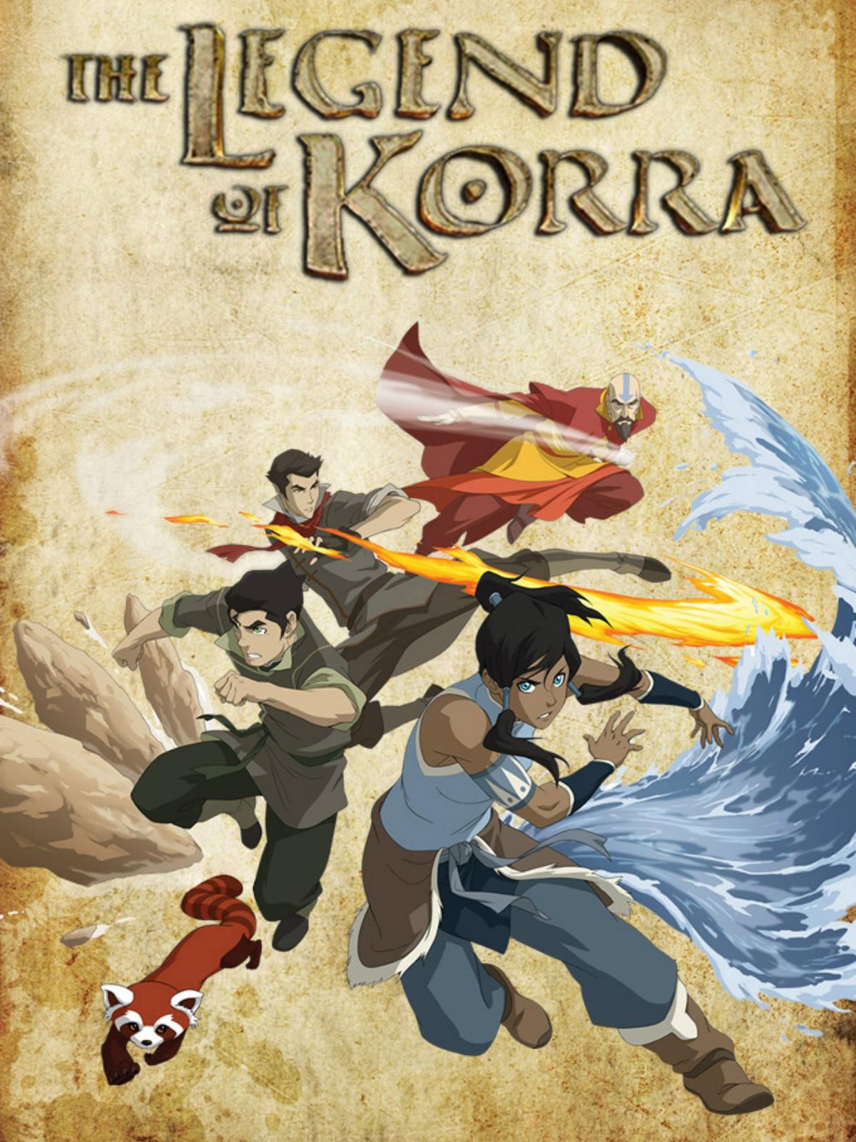 La leyenda de Korra 1080p Dual Latino/Ingles