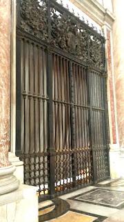 Cancello della Cappella del Coro