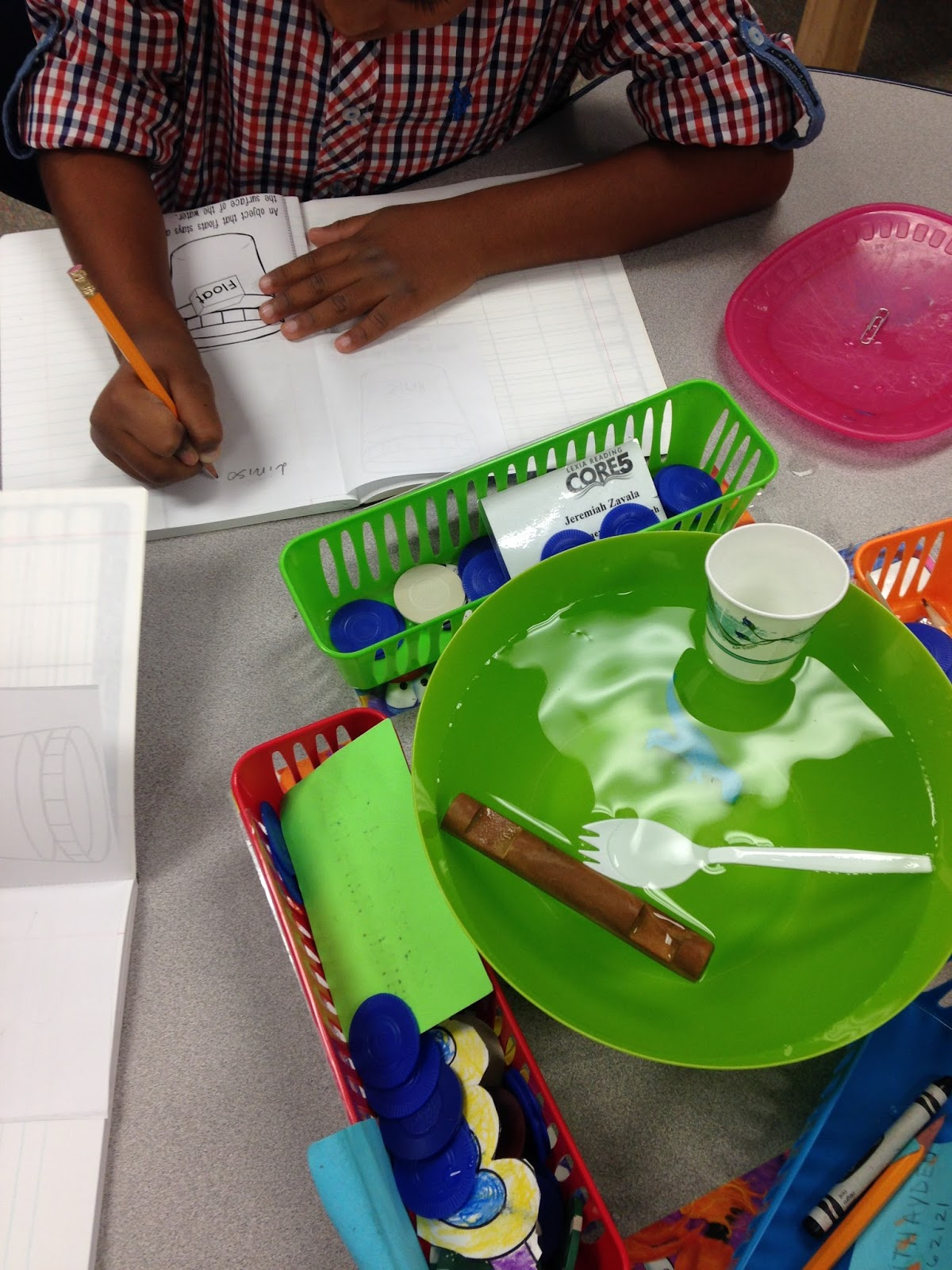 Scissors And Crayons Pumpkins Sink Or Float