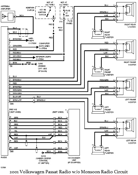 34 Vw Monsoon Amp Wiring Diagram