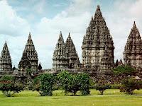Wisata Candi Prambanan Jogja tempat Sejarah Peninggalan Hindu