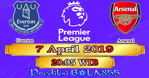 Prediksi Bola855 Everton vs Arsenal 7 April 2019