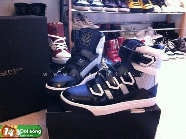 Bộ sưu tập giày sneaker tột đỉnh của anh chàng việt tại mỹ bạn nữ nào cũng m7ê