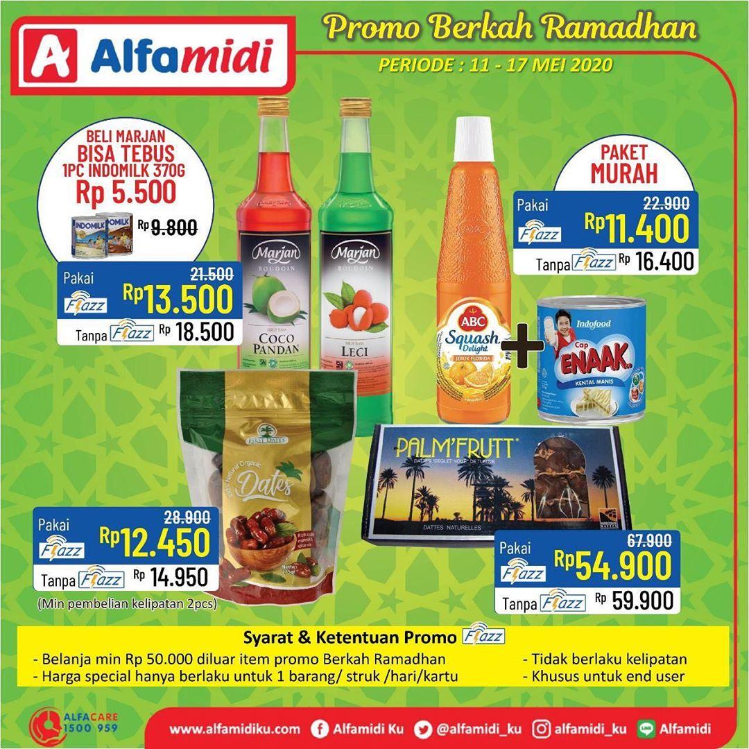 Promo Alfamidi Berkah Ramadhan Berlaku 11 - 17 Mei 2020