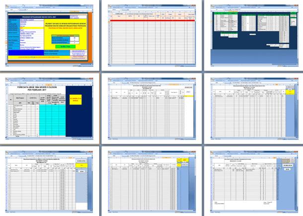 Aplikasi Sistem Manajemen Kepegawaian SIMAK Versi 2017