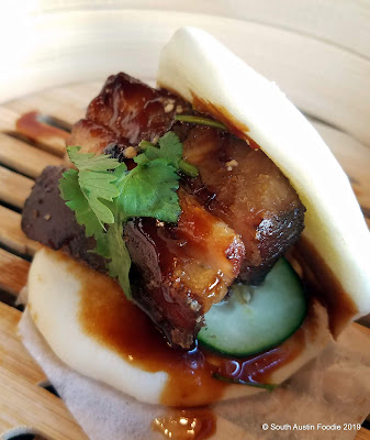 Bao'd Up Sunset Valley pork belly guabao