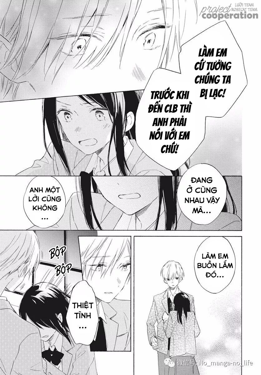 Kimi wa Haru ni Me wo Samasu chap 16 - Trang 28
