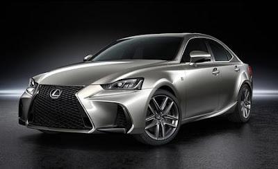 Presentata nuova Lexus IS: nuovo design tecnolgia HMI