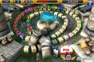Gameplay Luxor 2 HD
