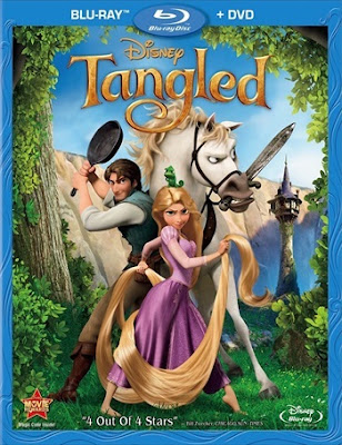 Tangled 2010 Dual Audio Hindi 720p BluRay 800mb