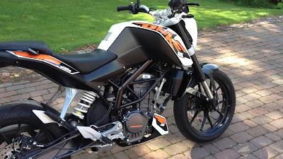 New KTM Duke 125 image