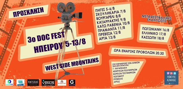 3ο  Διεθνές Φεστιβάλ   Ντοκιμαντέρ Ηπείρου