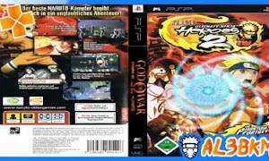 تحميل لعبة Naruto Ultimate Ninja Heroes 2 The Phantom Fortress psp iso مضغوطة لمحاكي ppsspp