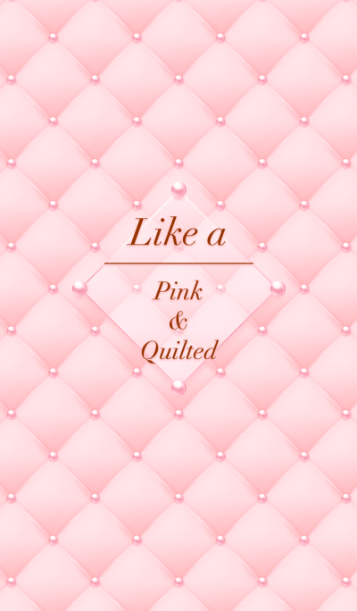 Like a - Pink & Quilted *Blossom