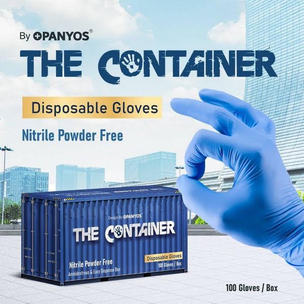 The Container ถุงมือยางไนไตร ถุงมือยางคุณภาพ ฉีกทุกมุมมอง สะกดทุกสายตา