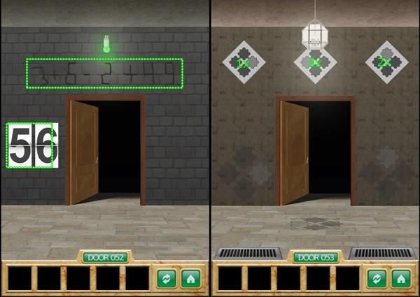 100 Doors 5 Stars Level 51 52 53 54 55