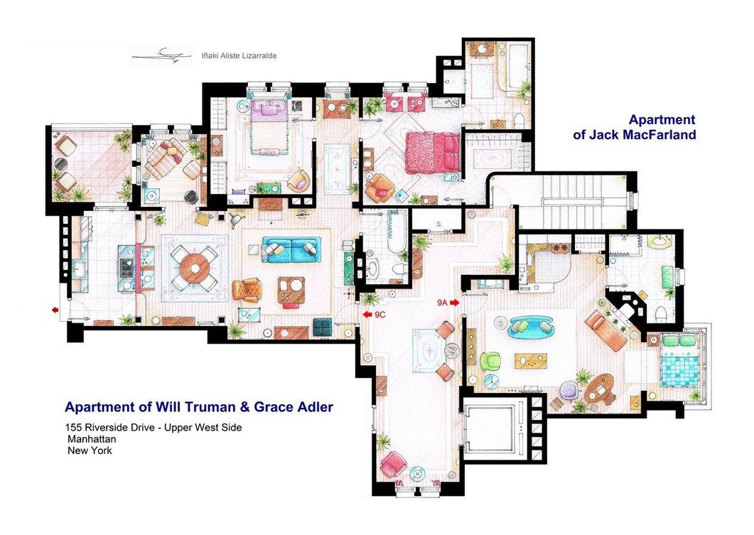Monishiwa Moonshine At Home – King Of Queens House Floor Plan