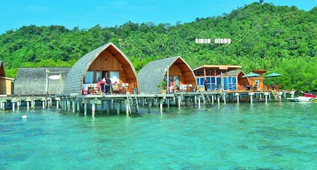 Pulau Pahawang Lampung : Harga tiket masuk, Lokasi dan Fasilitas