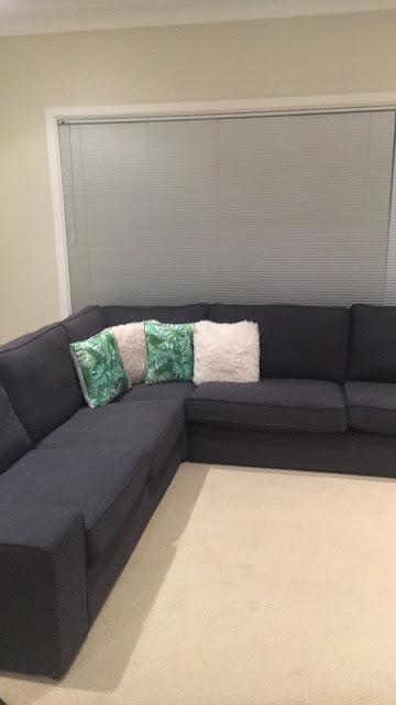 IKEA Kivik Sofa in Hillared Anthracite