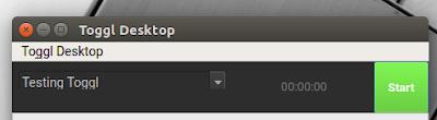 Toggl Linux app