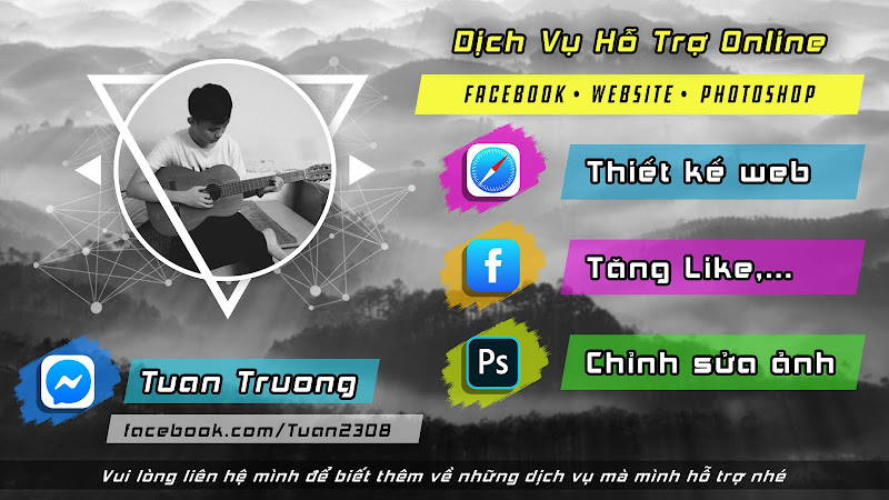 Dịch vụ hỗ trợ online - website, facebook