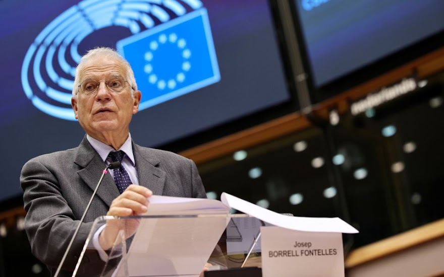 Μπορέλ: Υψηλή πιθανότητα για ισχυρά μέτρα κατά της Τουρκίας