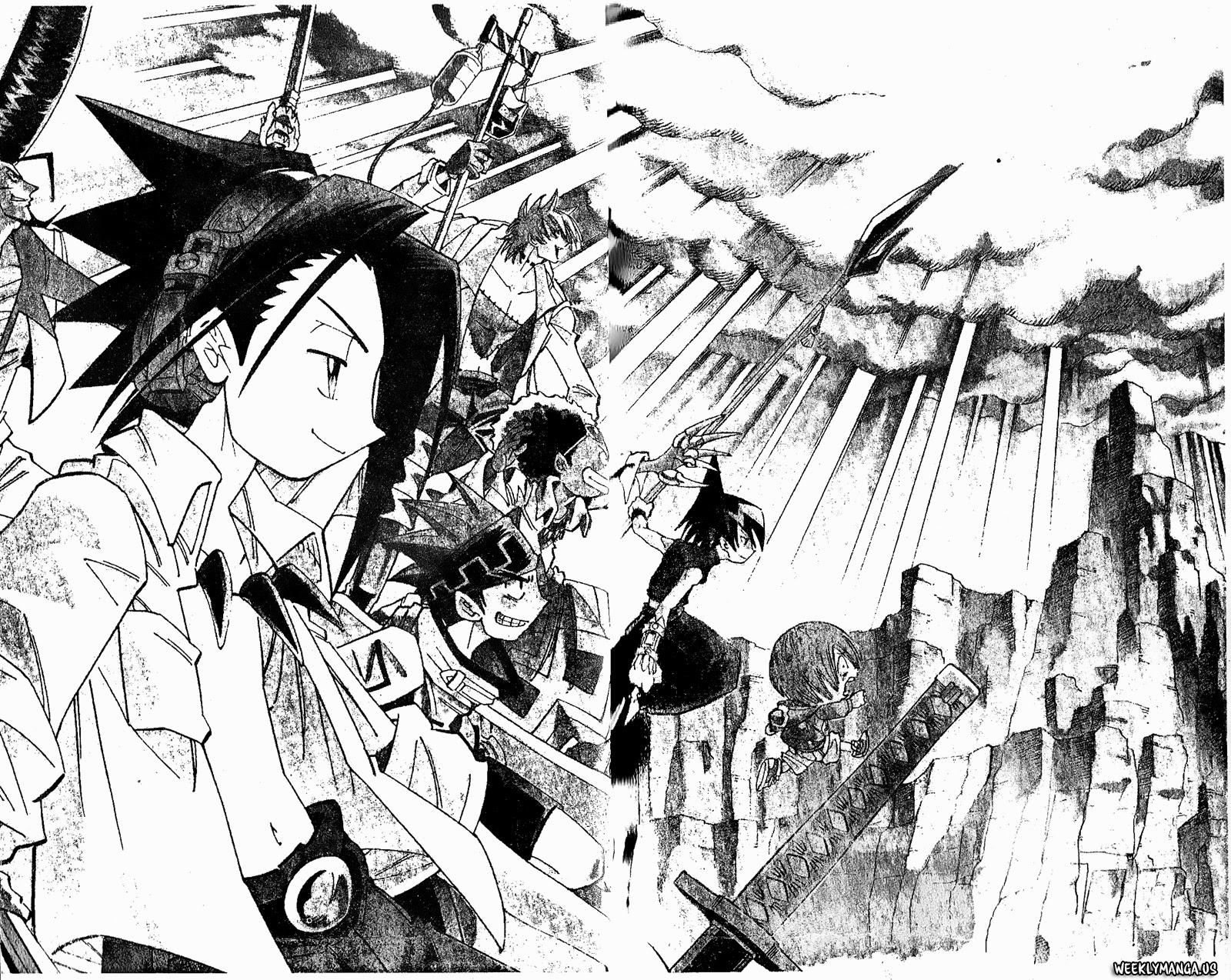 Shaman King [Vua pháp thuật] chap 180 trang 16